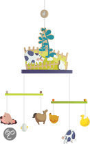 Janod Mobiel Happy Farm + Decoratie