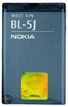 Nokia Accu o.a. geschikt voor 5230,5233,5800,Asha 200,Asha 201,Asha 302,Lumia 520,N900,X1-00,X1-01,X6 (type BL-5J)