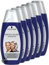 Schwarzkopf Reflex Silver - 5 x 250 ml Voordeelverpakking - Shampoo