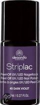 Alessandro Striplac - 45 Dark Violet - Paars - Gelnagellak