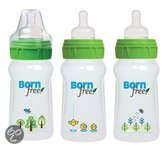 BornFree - Babyfles Deco 150 ml - Transparant