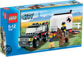 LEGO City Jeep met paardentrailer - 7635