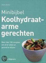 Minibijbel Koolhydraatarme Gerechten meer dan 150 recepten om af te vallen en gezond te blijven Elaine Gardner