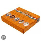 Oranje autoversiering pakket