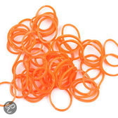 Oranje Orange Loom Bands Elastiekjes - 300 Stuks