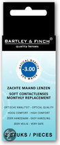 Bartley & Finch - 2 st - Maandlenzen -3.00