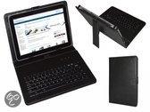 Keyboard Case voor de Mpman Tablet Mid103c, QWERTY Toetsenbordhoes, Zwart, merk i12Cover