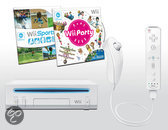 Nintendo Wii + Wii Party Wit