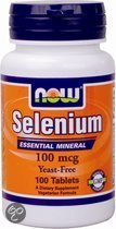 NOW Selenium 100 mcg - 100 Tabletten