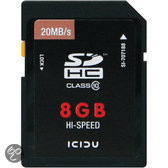 ICIDU Class 10 Hi-Speed Secure Digital Kaart 8GB