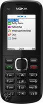 Nokia C1-02 - black