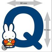 Nijntje Letter 8cm - Q