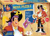Piet Piraat Mega Vloerpuzzel