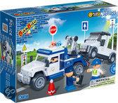 BanBao Politie Politieauto - 8346