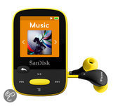 Sandisk Sansa Clip Sports - MP3-speler - 8 GB - Geel