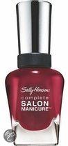 Sally Hansen Complete Salon Manicure - 610 Red Zin - Nailpolish