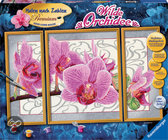 Wilde orchidee - Schilderen op Nummer