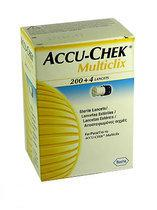 Accu Chek Multi Click Pen+Lanc