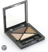 Rimmel Glam'Eyes Quad Eyeshadow - 002 Smokey Brown - Eyeshadow