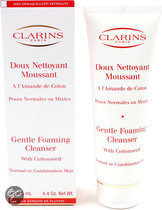 Clarins Gentle Foaming Cleanser Night Care Skin - 125 ml - Nachtcreme