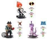 Disney Infinity Villains Davy Jones, Syndrome, Randy 3DS + Wii + Wii U + PS3 + Xbox 360