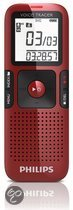 Philips LFH0648/00 - Digitale Voice Recorder - Rood