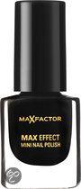 Max Factor Max Effect - 36 Lacquer Noir - Zwart - Mini Nagellak