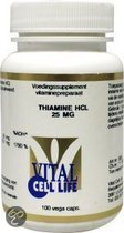 Vital Cell Life Voedingssupplementen Thiamine HCL 25mg