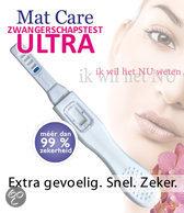Mat Care Zwangerschapstest ULTRA - 2 stuks - Zwangerschapstest