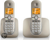 Philips XL3902 - Duo DECT telelefoon - Zilver