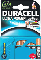 Duracell Ultra Power 8 pack AAA