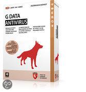 G DATA Antivirus, 3PC, 1 Year, Box