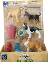 Newray Cat&amp dog set sint bernard