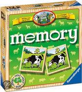 Ravensburger Houten Memory - Op Het Land