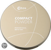 Etos Compact Powder 002 - Huidskleurig - Make-up poeder