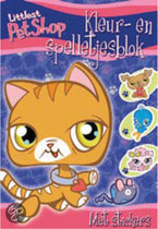 Spelletjesblok Littlest Pet Shop