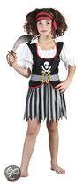 Luxe Piraat Chalotte - Kostuum - 7-9 jaar