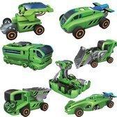 Imaginarium 7X1 Eco-Transformer - Bouwpakket auto's op zonne-energie