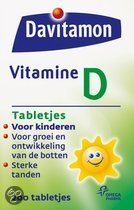 Davitamon D junior 4+ - 200 Tabletten  - Vitaminen