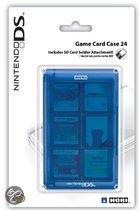 Game Card Case Voor 24 DS Games - Blauw