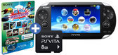 Foto van Sony PlayStation Vita WiFi Sports & Racing Mega Pack Voucher + 3G Simcard NL + 8GB Memory Card