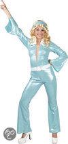 Lady Labelle - Kostuum - Maat 36/38 - Blauw
