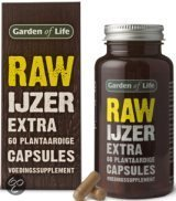 Garden Of Life Raw IJzer - 60 Capsules