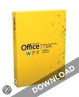 Microsoft Office Mac Home and Student 2011 - 1 Licentie directe download versie