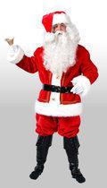 Kerstmanpak luxe kerst kostuum