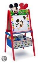 Dubbelzijdig schoolbord Mickey Mouse