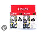 Canon BCI-6 - Inktcartridge / Zwart / Multipack
