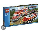 Lego City Brandweer Commando Truck