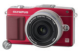 Olympus PEN E-PM2 + 14-42mm - Systeemcamera - Rood
