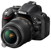 Nikon D5200 + 18-55mm VR - spiegelreflexcamera - Zwart
